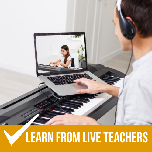 live online piano lessons