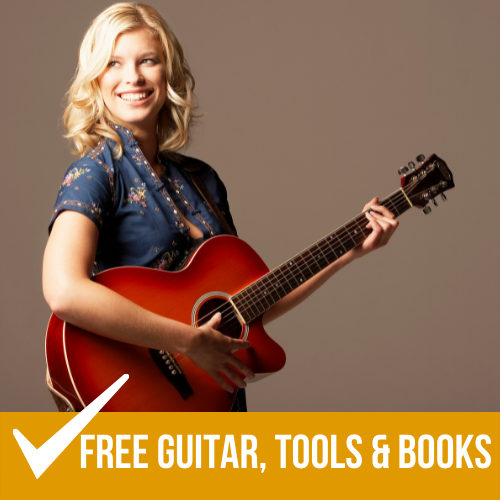 Special Offer: 6 Month Online Guitar Lesson Package with a FREE GUITAR! 9